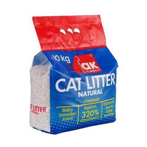 ده کیلویی2 - خاک مخصوص گربه ak بسته ده کیلویی