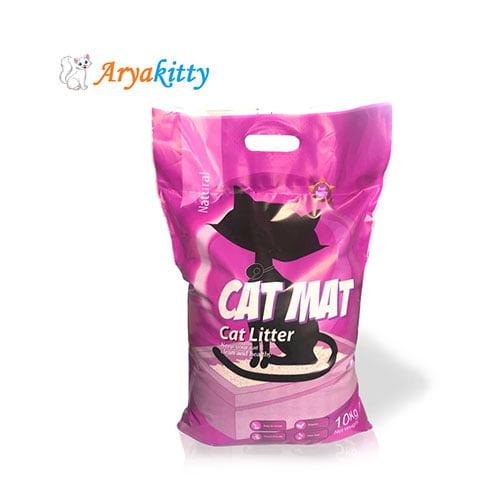 خاک گربه کت مت بسته ده کیلویی - cat mat cat litter