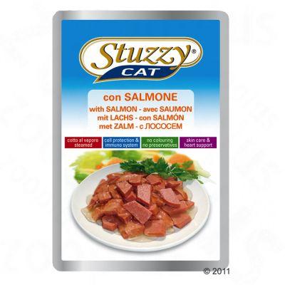 پوچ گربه ماهی سالمون - stuzzy pouch with salmon