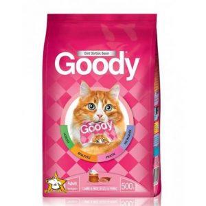 غذای خشک گربه با طعم بره و برنج