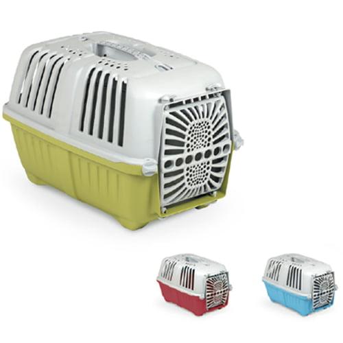 box hamle praktiko pelastiki 3 - باکس حمل گربه پراتیکو با درب پلاستیکی