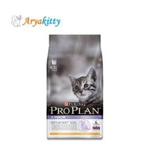 غذای خشک بچه گربه پروپلن حاوی مرغ - proplan jonior