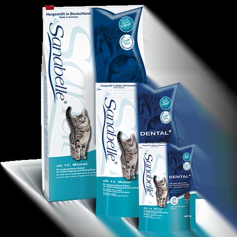 غذای گربه بالغ برای حفظ بهداشت دهان و دندان سانابل