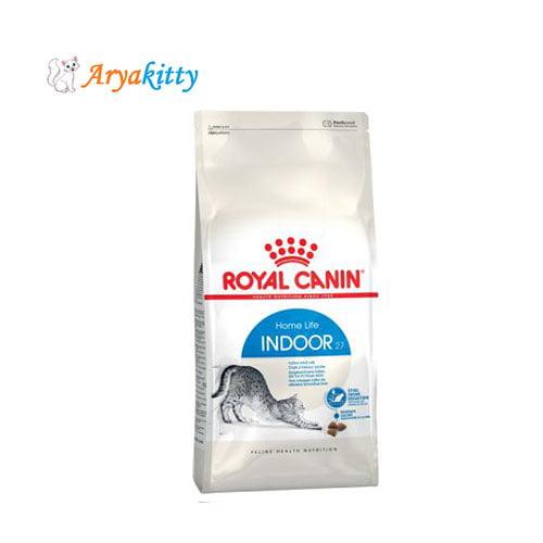 غذای خشک گربه های بالغ داخل خانه - royal canin indoor