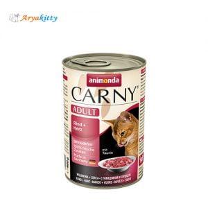 کنسرو گربه کارنی حاوی گوساله و جگر