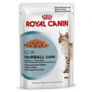 پوچ گربه مبتلا به هربال - royal canin hairbal care