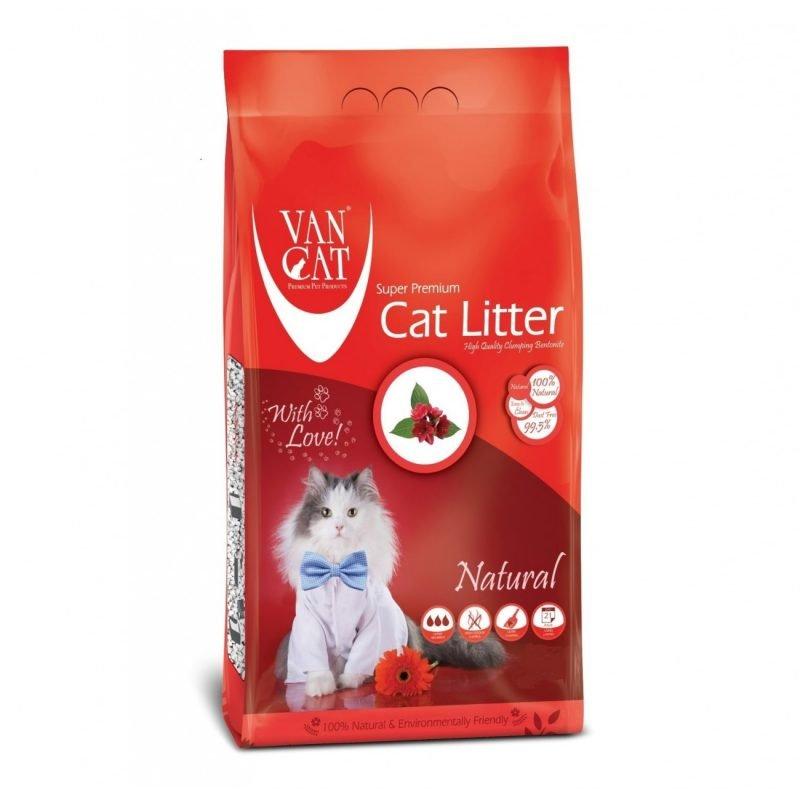 خاک گربه ون کت - van cat litter