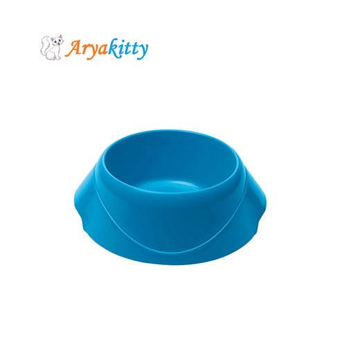 ابی - ظرف آب و غذای گربه مگنوس