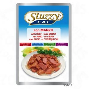 پوچ گربه فیله بیف - stuzzy pouch with beef
