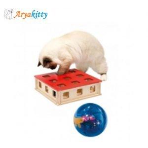اسباب بازی گربه مجیک باکس - ferplast magic box