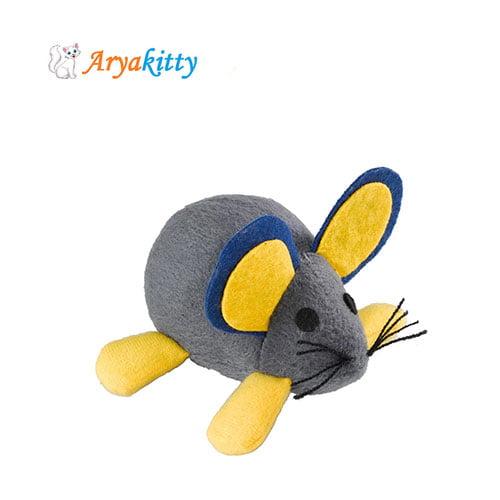 اسباب بازی گربه موش با فنر - ferplast cat toy