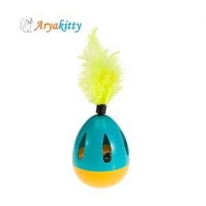 اسباب بازی گربه دورانی با صدای زنگوله - ferplast oval ball