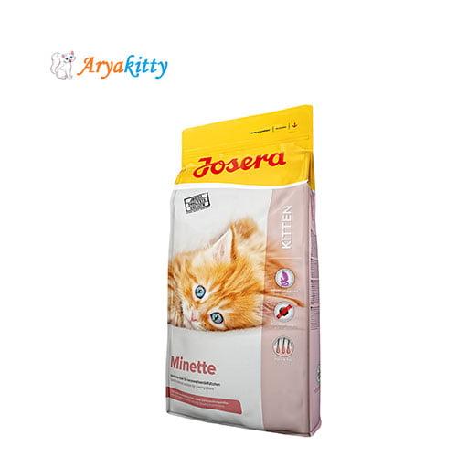 غذای مخصوص بچه گربه جوسرا - josera minette