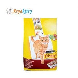 غذای گربه بالغ حاوی گوشت ، مرغ و سبزیجات