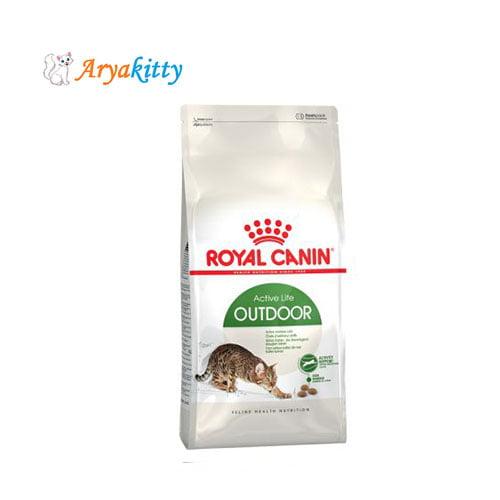 غذای گربه های بالغ خارج از خانه - royal canin outdoor