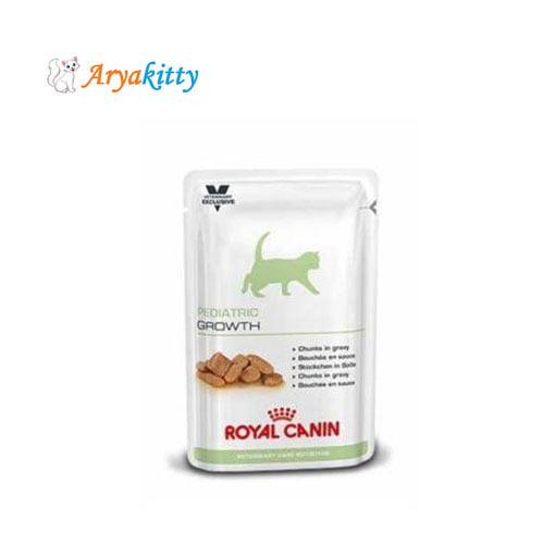 پوچ بچه گربه 4 تا 12 ماه فاز سوم رشد - royal canin pediatric growth