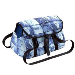 کیف حمل گربه میلو طرح جین - fferplast