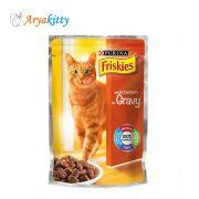 پوچ گربه حاوی بوقلمون Friskies