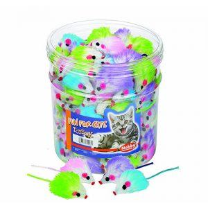 اسباب بازی گربه موش پشمالو صدا دار