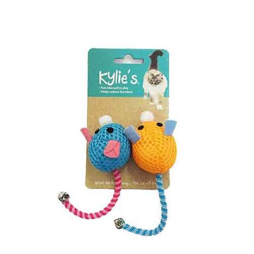 بازی گربه موش با دم زنگوله دار - اسباب بازی گربه موش با دم زنگوله دار