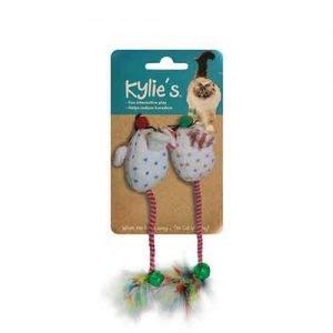 اسباب بازی گربه موش با دم پر دار