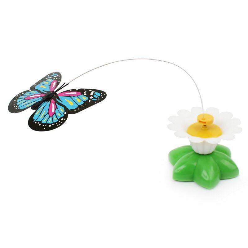 اسباب بازی چرخشی گربه طرح پروانه