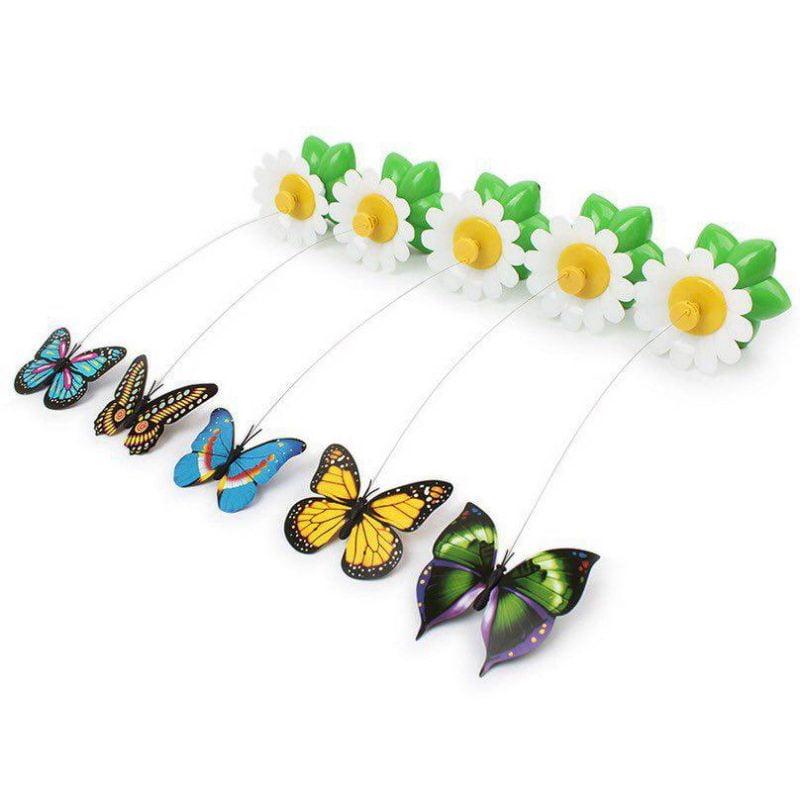 بازی چرخشی گربه طرح پروانه 800x797 - اسباب بازی چرخشی گربه طرح پروانه