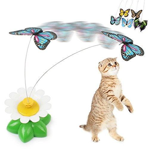 بازی چرخشی گربه طرح پروانه2 - اسباب بازی چرخشی گربه طرح پروانه