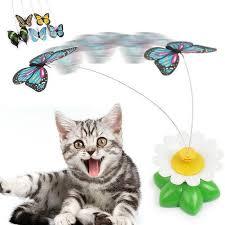بازی چرخشی گربه طرح پروانه7 - اسباب بازی چرخشی گربه طرح پروانه