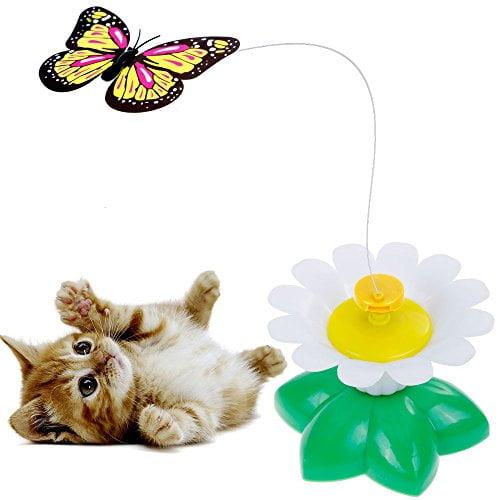 بازی چرخشی گربه طرح پروانه8 - اسباب بازی چرخشی گربه طرح پروانه