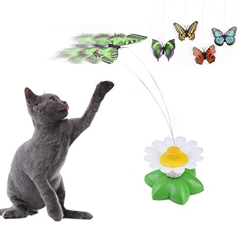 بازی چرخشی گربه طرح پروانه9 - اسباب بازی چرخشی گربه طرح پروانه