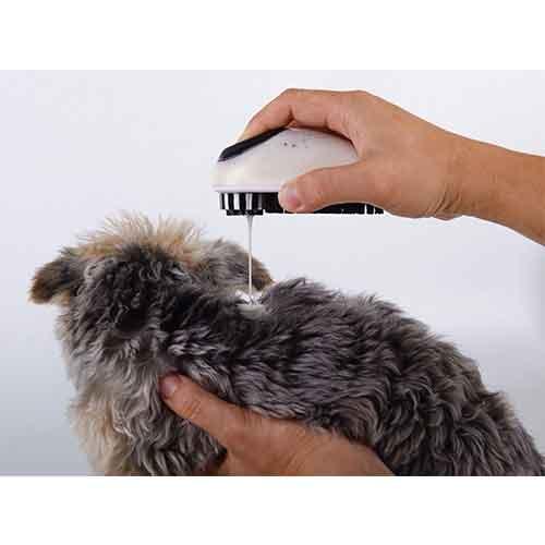 شستشوی گربه با محفظه شامپو9 - برس شستشوی گربه با محفظه شامپو