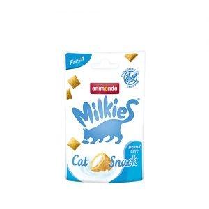 اسنک شیری بهداشت دهان و دندان - animonda denta snack