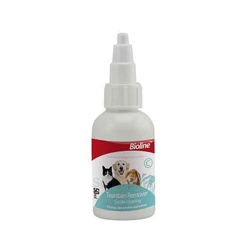 قطره تمیز کننده خط اشک گربه - Bioline tearstain remover