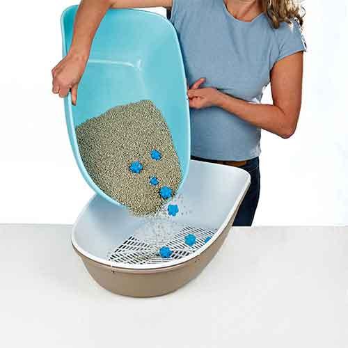 گربه استفان پلاست مدل شیک5 - دستشویی گربه استفان پلاست مدل شیک