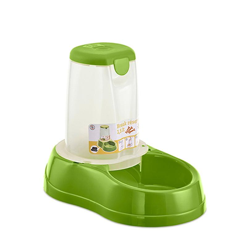 ظرف غذای مخزن دار استفان پلاست 1.5 لیتر Stefanplast
