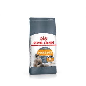 غذای گربه با پوست و موی حساس رویال کنین - royal canin hair & skin