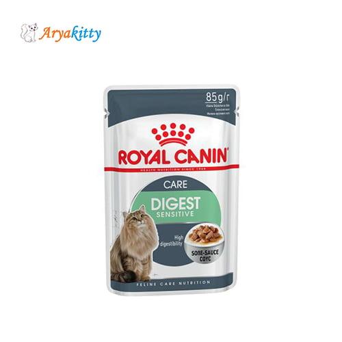 پوچ گربه برای گوارش حساس - royal canin digest