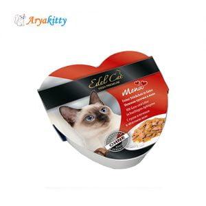 خوراک گربه ادل حاوی گوشت غاز و جگر - edel cat