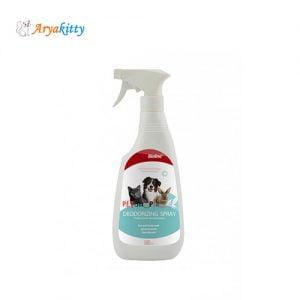 اسپری از بین برنده بوی بد بدن و محیط - bioline deodorizing spray