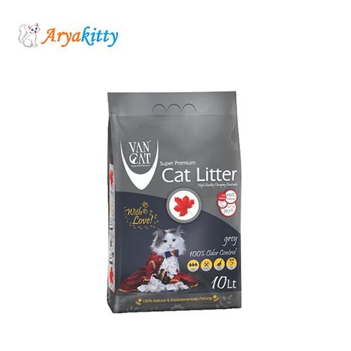 خاک گربه ون کت با جذب بوی قوی - van cat litter