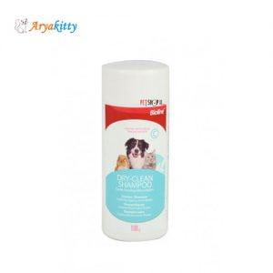 شامپو خشک سگ و گربه بایولاین - bioline dry-clean shampoo