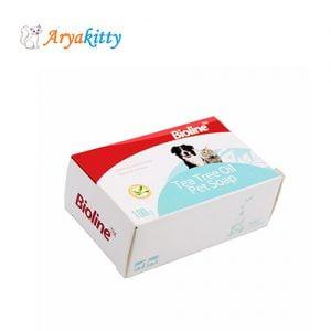 صابون حاوی روغن درخت چای - bioline pet soap
