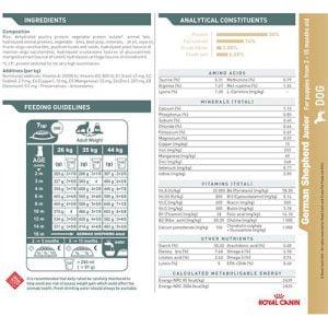 غذای خشک سگ نژاد ژرمن شپرد 2 - 15 ماه 4