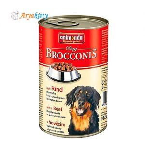 كنسرو گوشت گاو مخصوص سگ بروکنیز