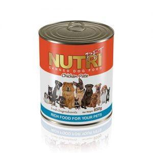 کنسرو مرغ نوتری مخصوص سگ Nutri