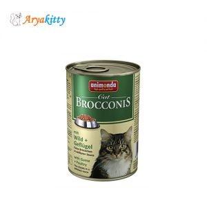 کنسرو گربه انیموندا با مرغ و گوشت شکار