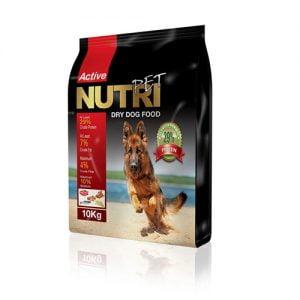 غذای خشک سگ نوتری با پروتئین ۲۹ درصد Nutri