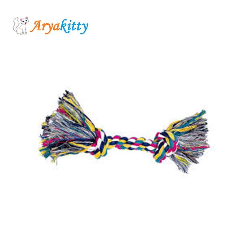 اسباب بازی طناب کنفی مخصوص سگ