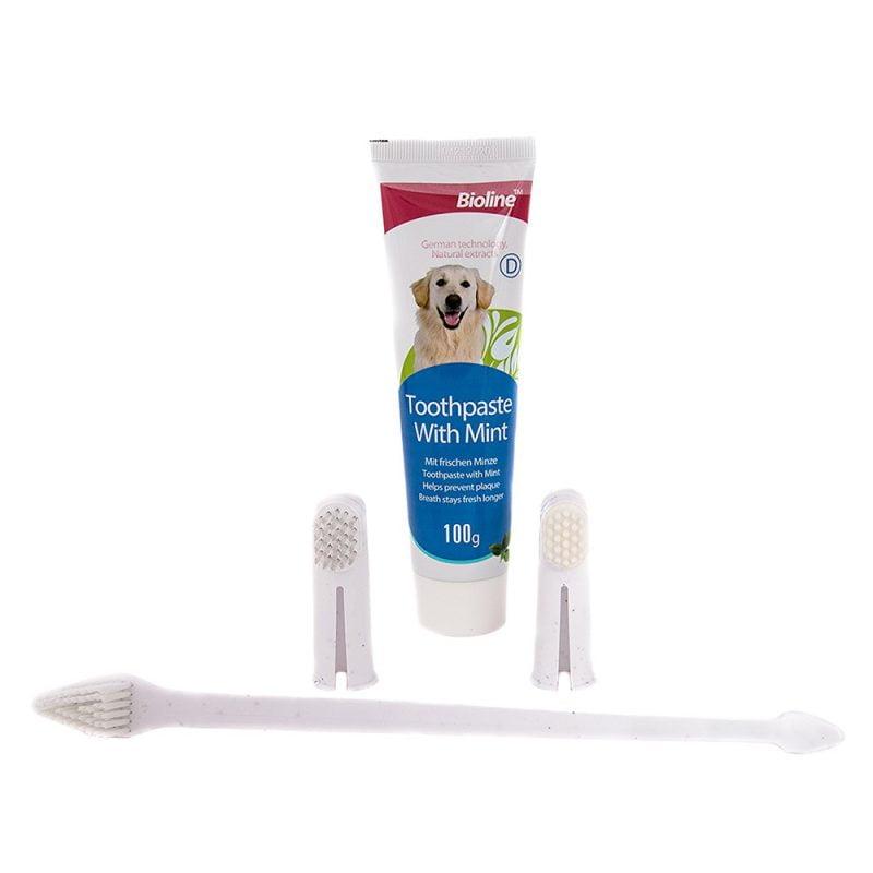 ست مسواک و خمیر دندان Bioline 1
